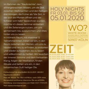 Rauhnacht-Holy nights 2020